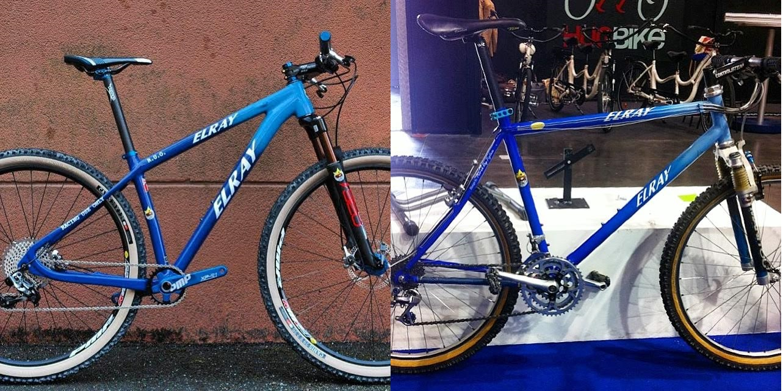 (nella foto la ELRAY RUO modello anno 2015 e modello anno 1995)