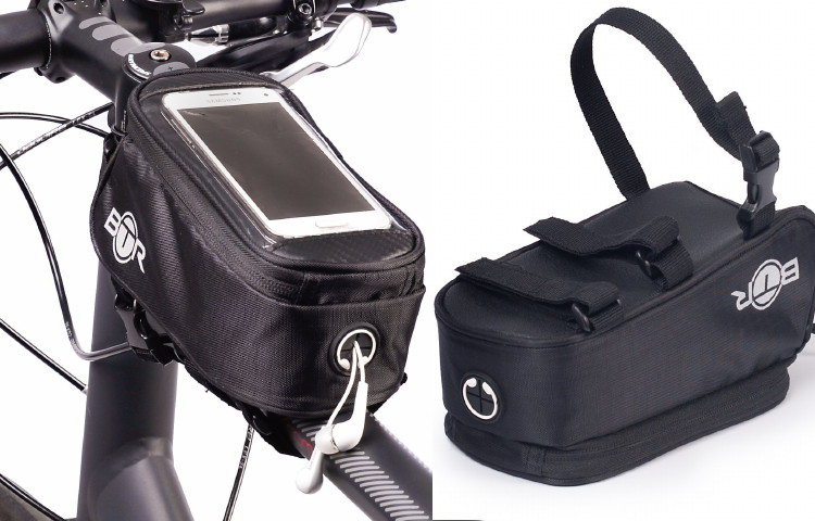 borsa porta cellulare bici
