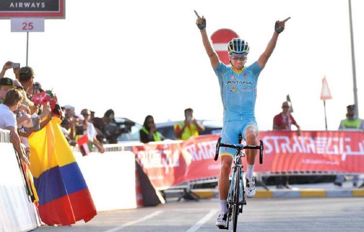 Ciclismo, Kangert vince l'Abu Dhabi Tour. A Cavendish la tappa finale