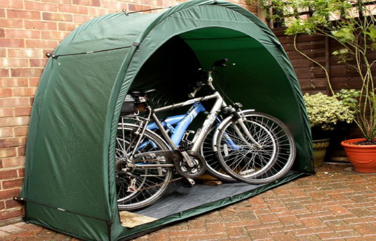 tenda per biciclette