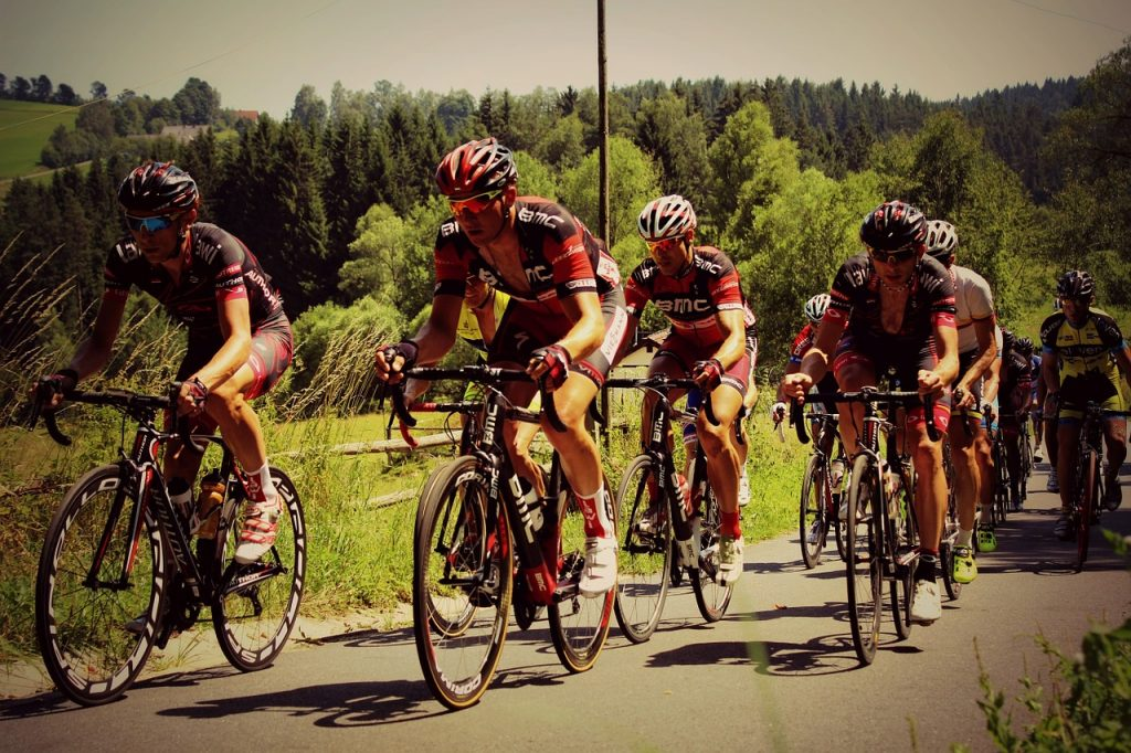 ciclismo su strada