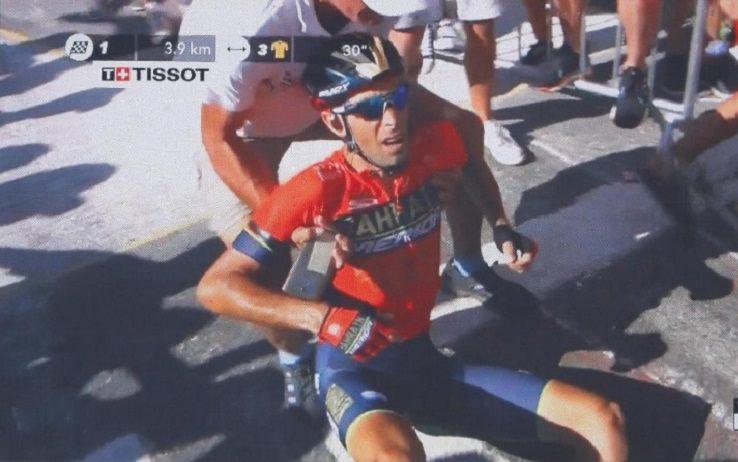 Vincenzo Nibali si ritirà dal Tour de France: ecco perchè