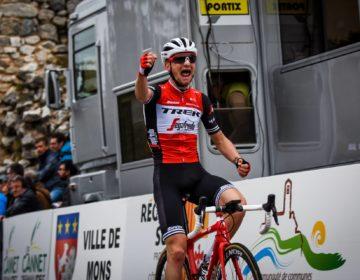 Giulio Ciccone, Tour de France 2019, sesta tappa, maglia gialla