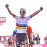 Vuelta: Alejandro Valverde vince la settima tappa, Lopez ritorna al comando