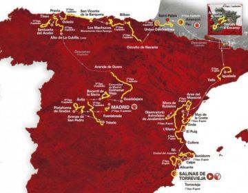 Vuelta, percorso, ciclisti partecipanti, tappe