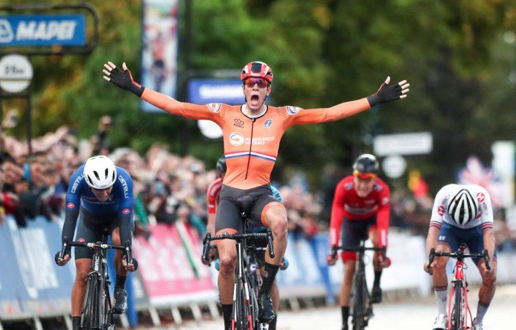 Mondiali ciclismo 2019: Samuele Battistella medaglia d'oro, squalificato Eekhoff